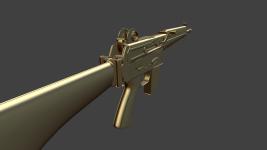 AR18 Gold Matcap