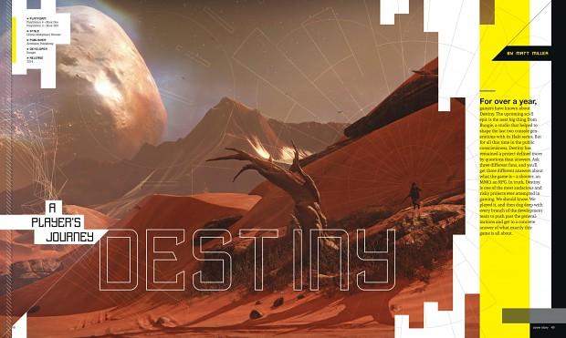 destiny  game informer