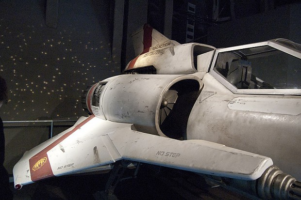 Battlestar Galactica Exhibit (Seattle EMP)