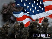 Call of Duty 2 American Wallpaper