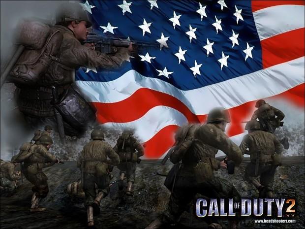 Обои Call of Duty 2 Игры. . Скачать. Маленкий.