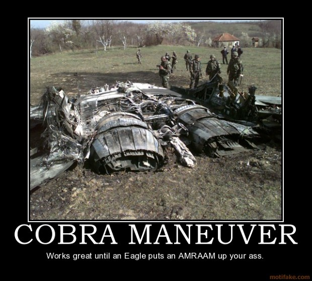 Cobra Maneuver