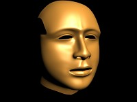 human head ( high poly )