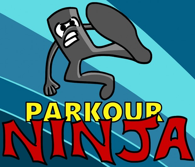 Concept art for Parkour Ninja logo