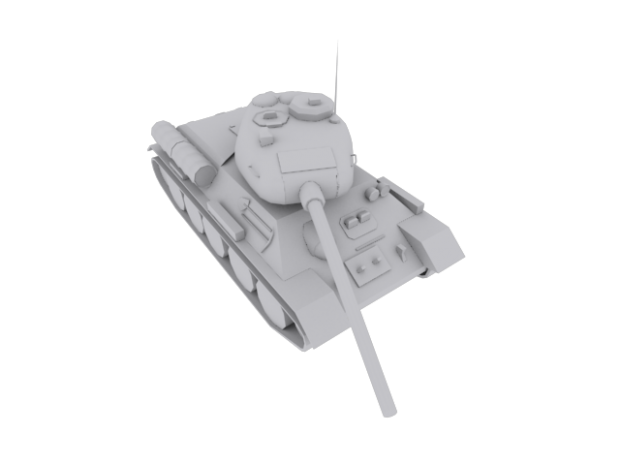 lowpoly t3485 quick texture