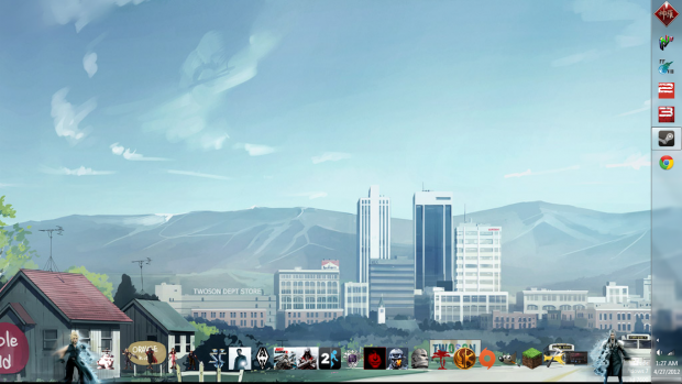 My New Desktop look!