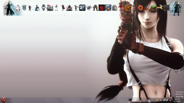 New desktop look again.