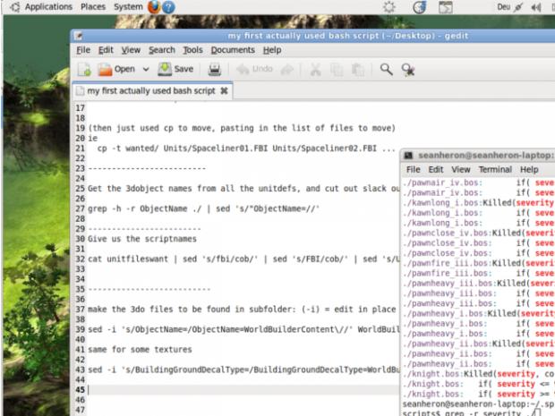 Desktop Screenshot - Script-fu