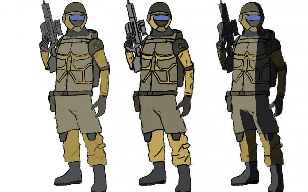 GDI Soldier concepts