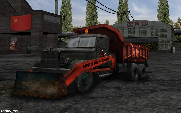 RA:APB Soviet Ore Truck widescreen version