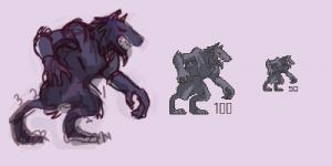 Wolf Pixel Spread