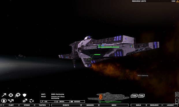 Vanaar'Jet Battleship Reference