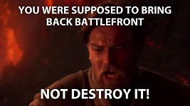 My reaction to Star Wars' Battlefront