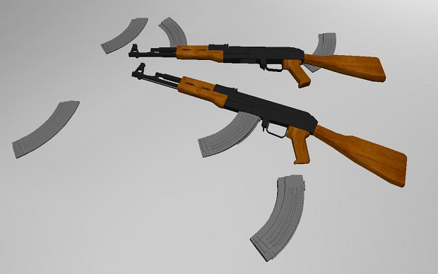 Semi textured AK-47