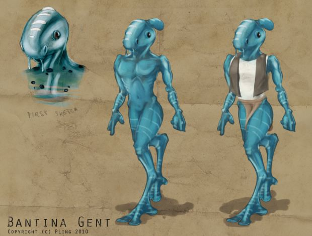 Bantina Gent alien concept