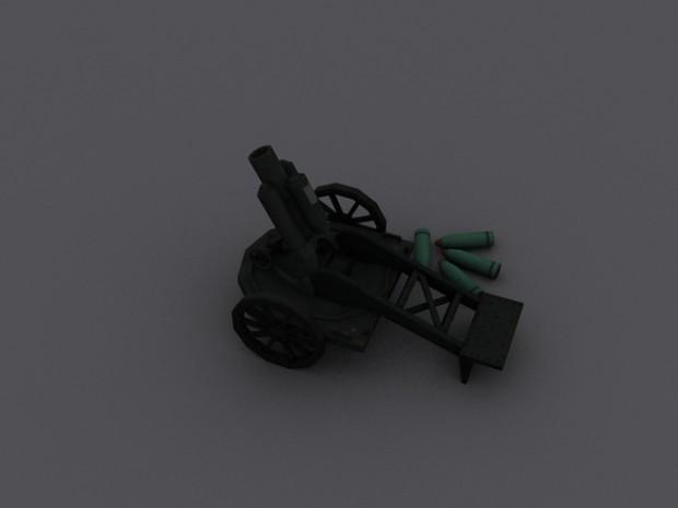 Finished Minenwerfer without Camo