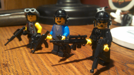 The Return Cast in LEGO, Part 4