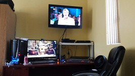 The Prime's Room Entertainment Set-Up