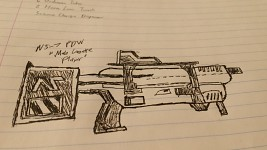 I was Bored, so I Drew a Gun