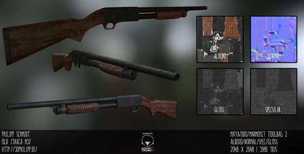 Old M37 Shotgun