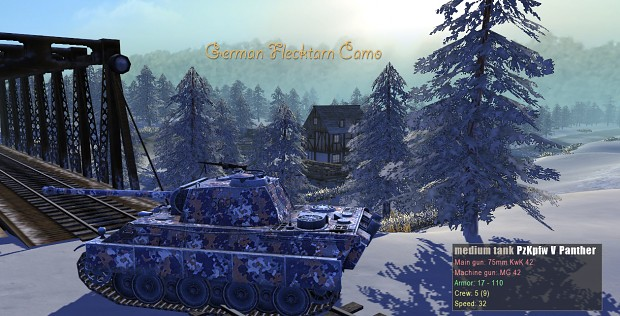 german_flecktarn_camo snow skin