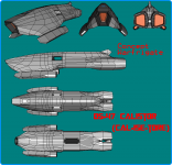 DS-47 Calistor War frigate