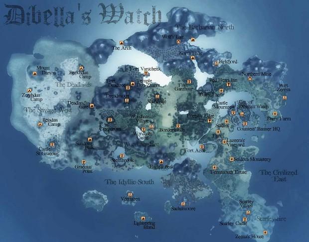 Beta 06 Map