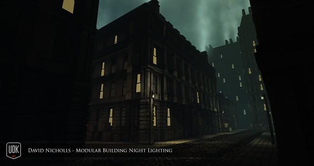 Modular Blackfriar's building