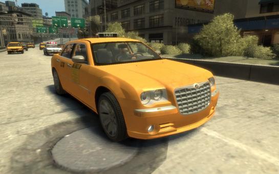 Chrysler 300c Taxi Image Gamefreak42 Mod Db