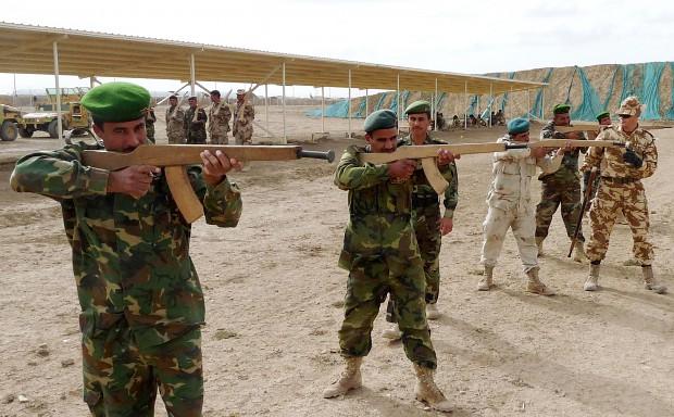 Low budget army!