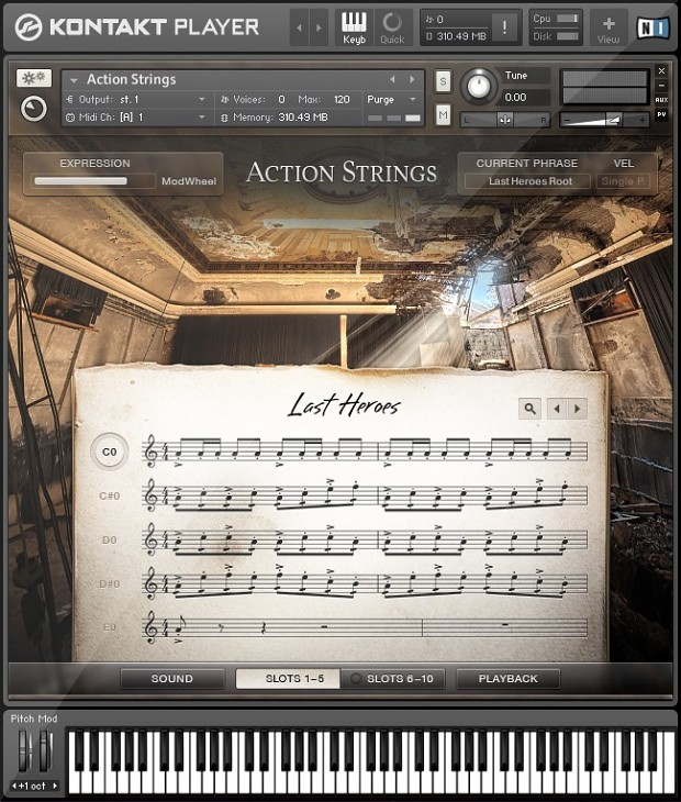 Action Strings