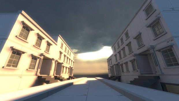 Old London Street concept idea. 2