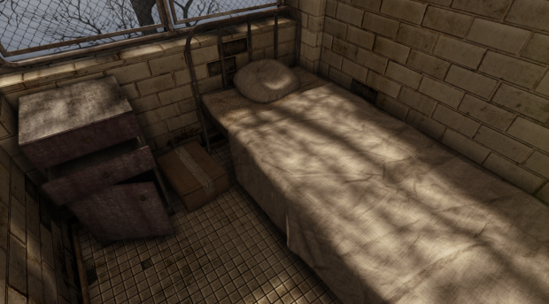 My first scene on UDK