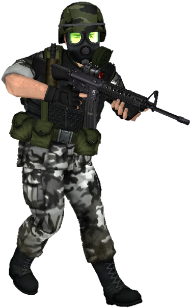 hgrunt model for half-life ,high definition