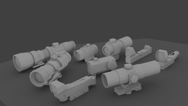 scopes for 28 marines
