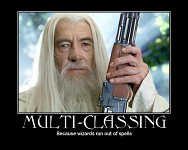Gandalf is a badass