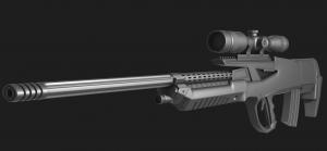 """""""Juanita"""" Sniper Rifle"""