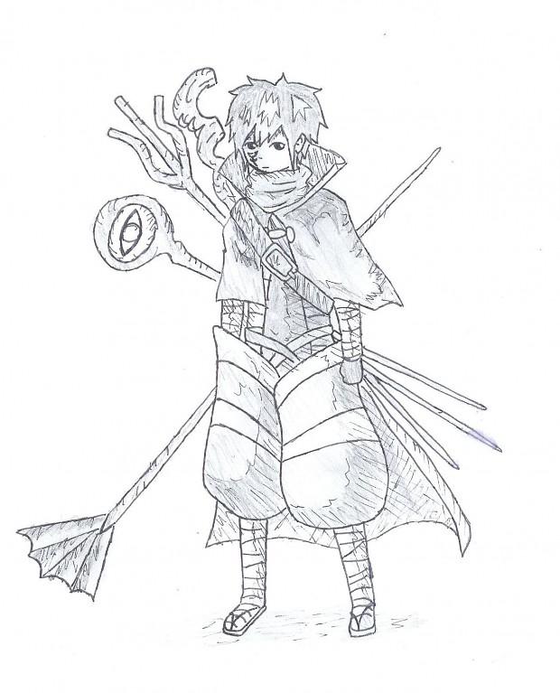 Mystogan Drawing