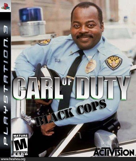 Carl of Duty: Black Cops