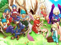 Breath of Fire (All Ryu and All Nina)