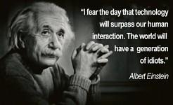 Einstein's Propechy