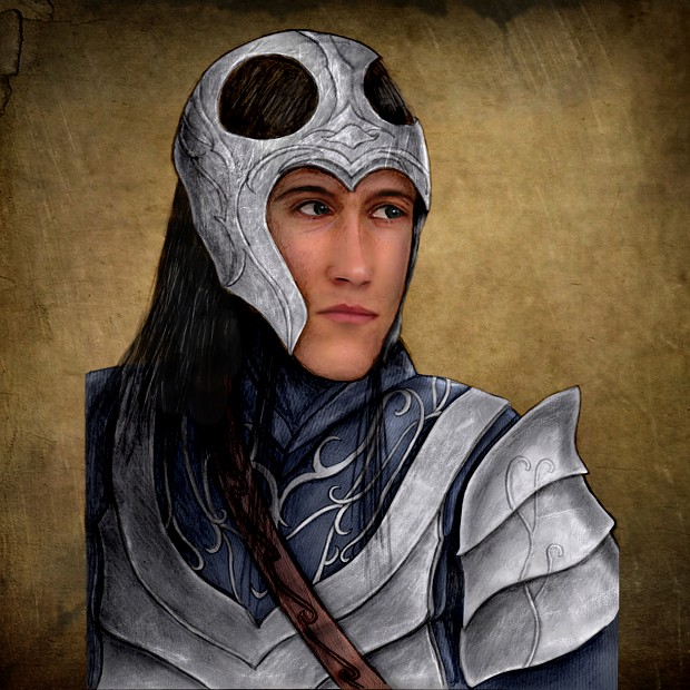 Grey Havens Archer Digital Painted
