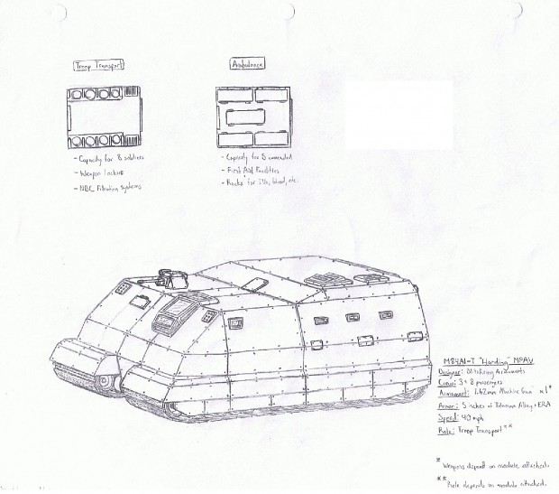 M84A1-T 'Harding'MPAV