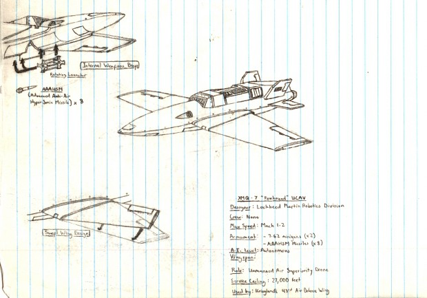All of my Aerial concept pieces
