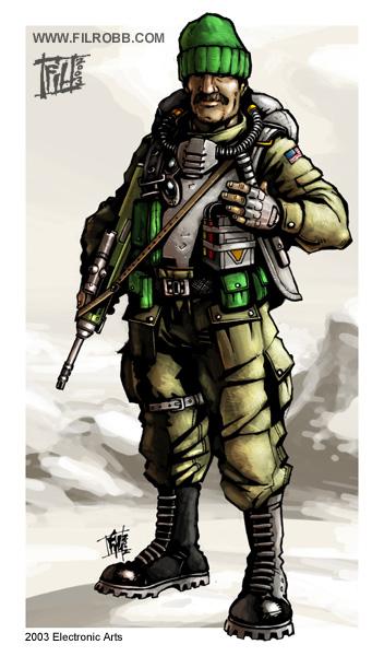 Generals unit concepts