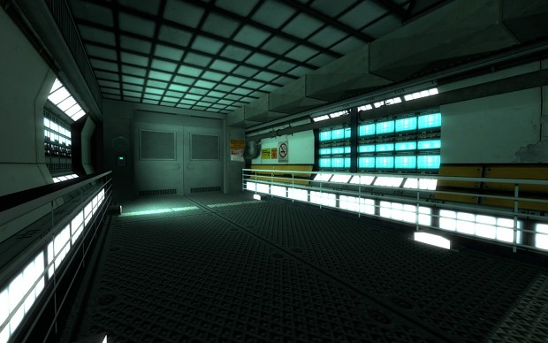 Black Mesa themed map.