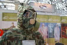 A Russian PMK gas mask with Camouflage!