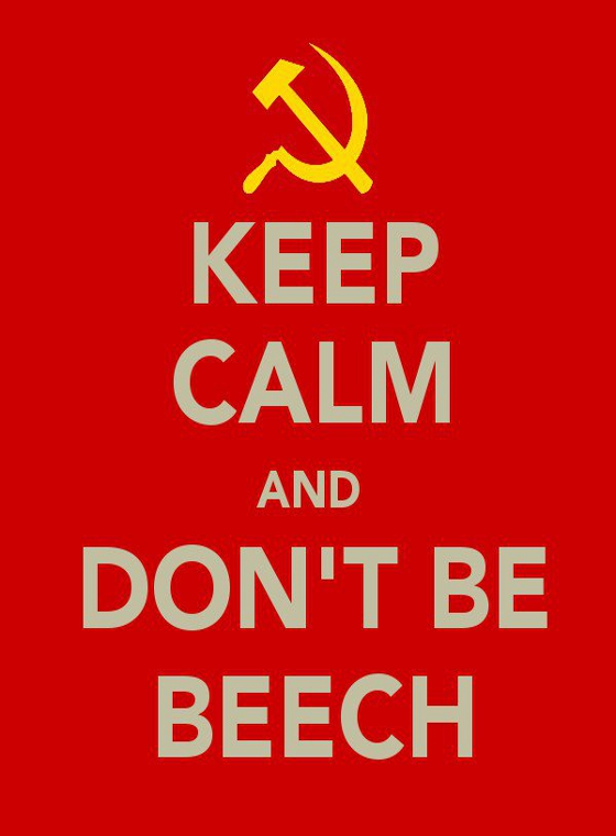 Dont be beech ... be Russian xD