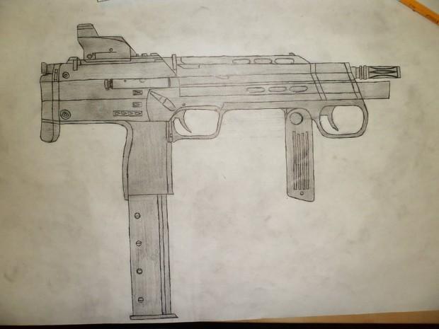 "Combine MP7 ""right side"""