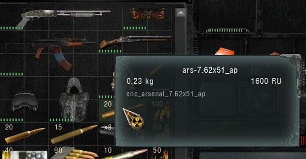 Bad ammo description